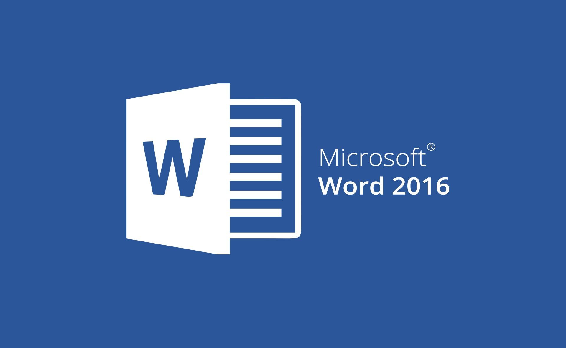 mos word 2016 online edusa