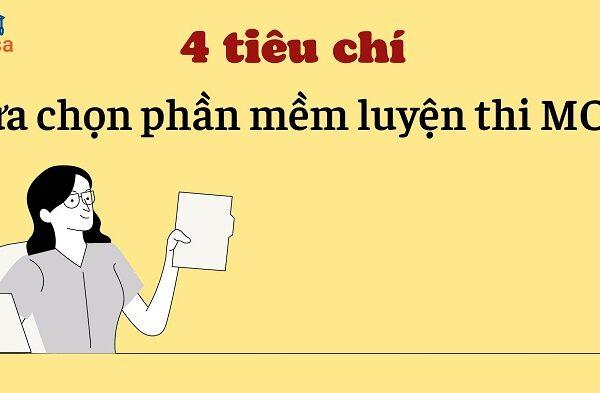 4 tieu chi lua chon phan mem luyen thi mos