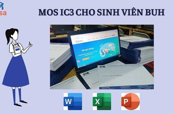 MOS IC3 cho sinh vien dai hoc ngan hang 1