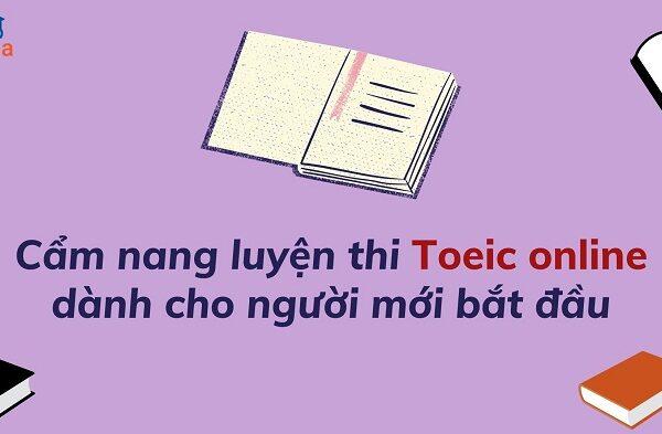 cam nang luyen thi toeic online danh cho nguoi moi bat dau